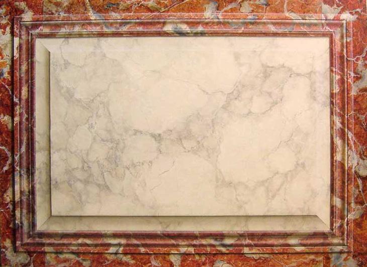 panneau-marbres-moulurés