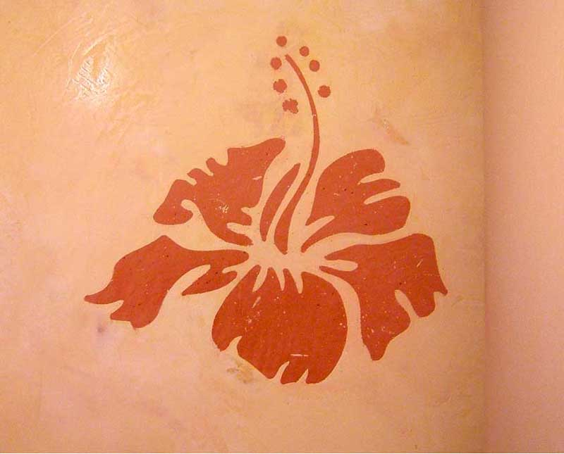pochoir-de-stuc(hibiscus)