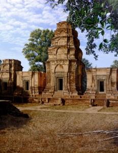 Prasat-Kravan(centre)